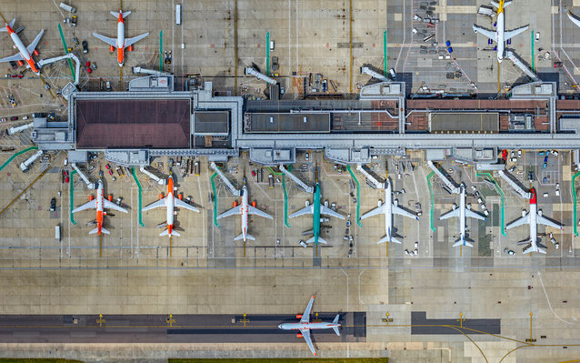 Aerial Photos of London Gatwick Airport