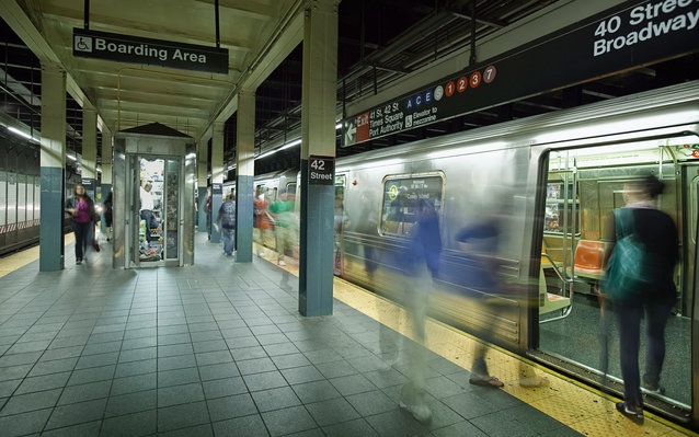 Matthew Ahn visited every New York City subway stop in 21 hours, 28 minutes and 14 seconds.