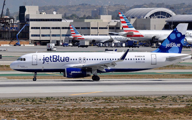 JetBlue flew the first scheduled commercial flight to Cuba on Wednesday, Aug. 31, 2016.
