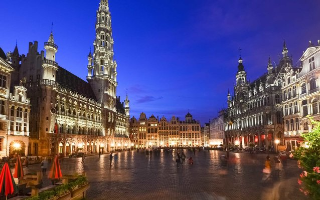 brussels evening