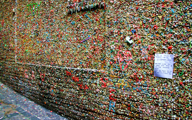 Pike Place Gum Wall, Seattle