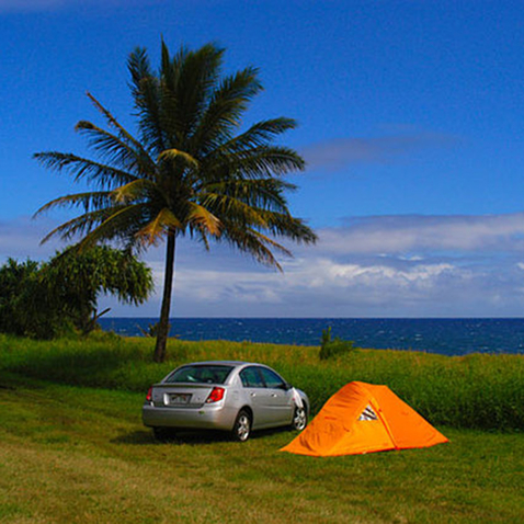 Best Camping on Maui