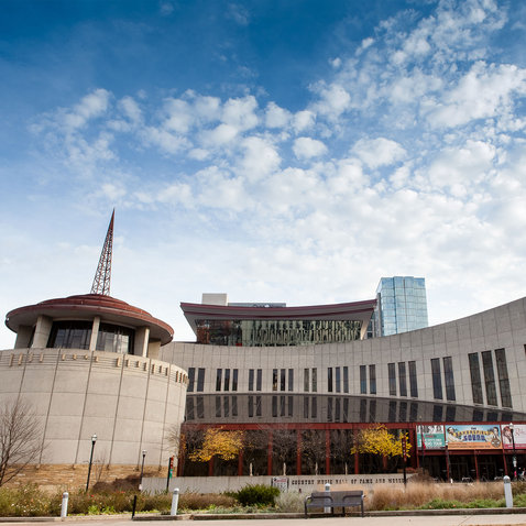 Country Music Hall of Fame and Museum exterior