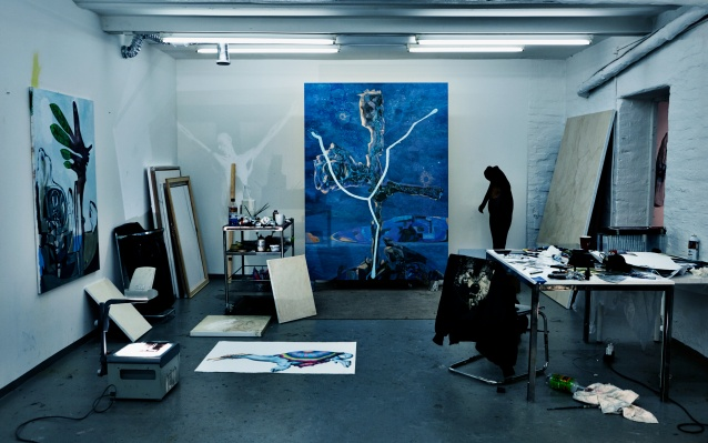 Art studio room
