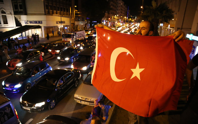 U.S. citizens warned to shelter in place amid attempted coup.