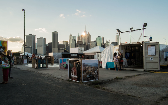 Photoville Brooklyn Bridge Park