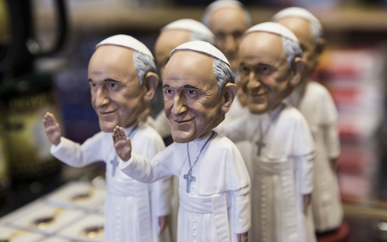 Pope Bobble Heads