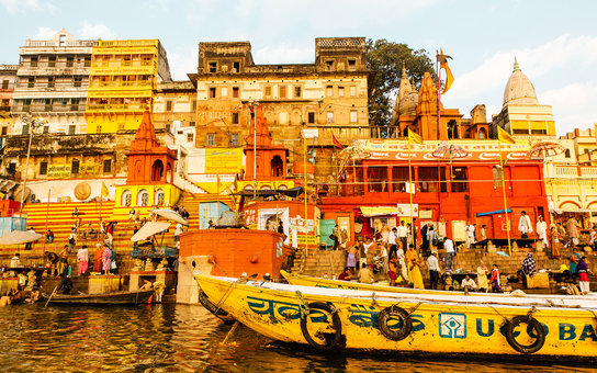 Varanasi India Day of the Dead