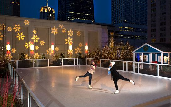 peninsula chicago ice rink