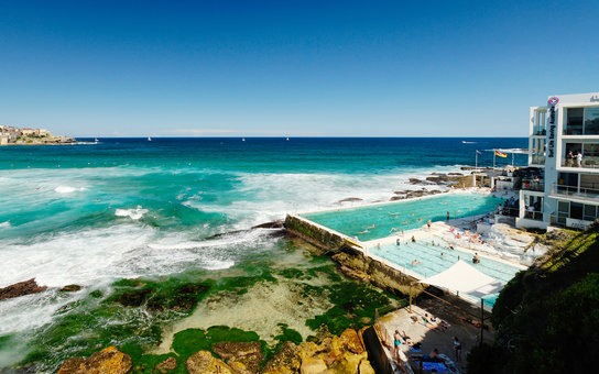 The Icebergs at Bondi Beach in Sydney