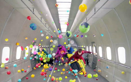 OkGo Zero Gravity Plane Music Video