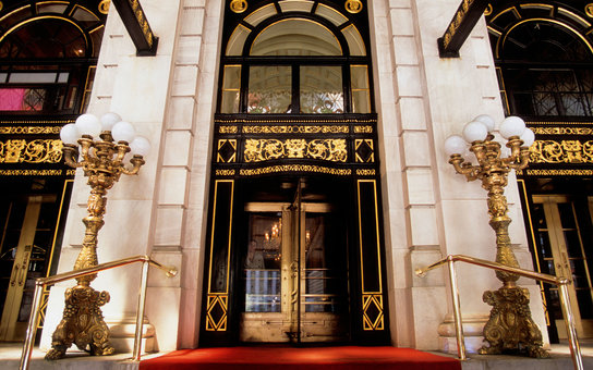 The Plaza Hotel Entrance New York