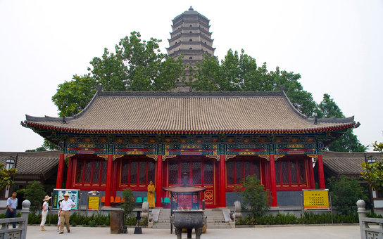 the Famen Temple,Xi'an