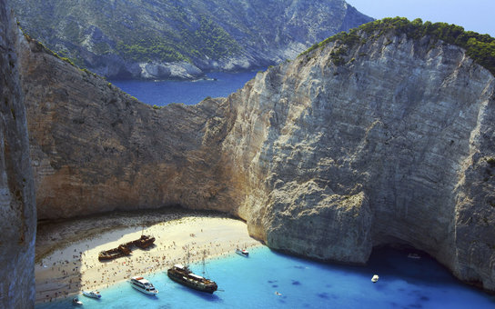 Best Beaches Greece Navagio