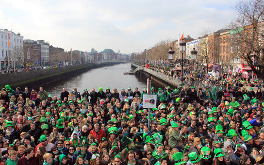 St. Patrick's Day 2016 in Dublin, Ireland