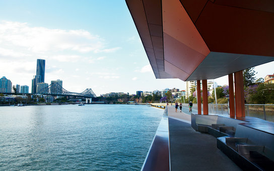 The New Farm Riverwalk in Brisbane