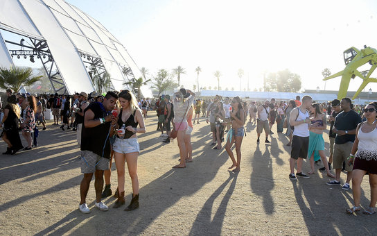 Coachella music festival in California