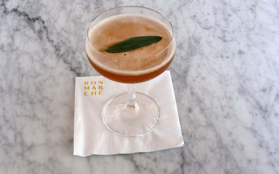 cocktail at bon marche