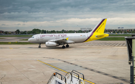 Germanwings airplane