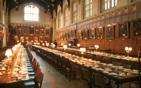 hogwarts valentine's day dinner