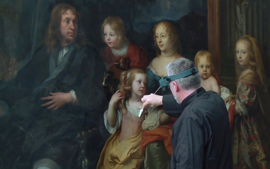 Met Painting Restoration: Charles Le Brun's <em>A Portrait of Everhard Jabach and Family</em>