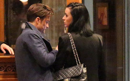 katy perry and orlando bloom in aspen
