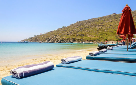 Best Beaches Greece Psarou