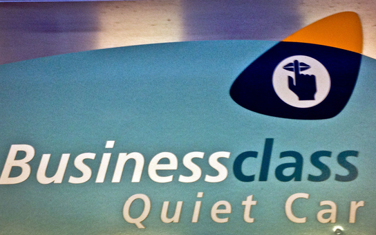 Amtrak Business Class Quiet Car