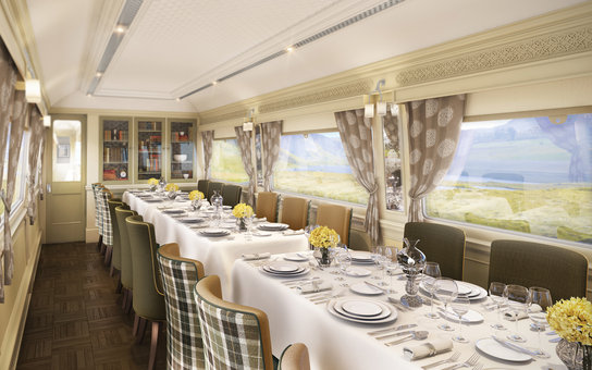 Belmond Grand Hibernian Train
