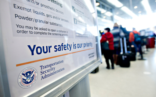 Transgender rights protest mistreatment by tsa