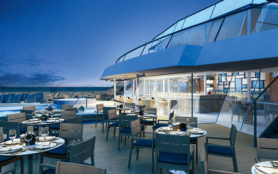 Aquivit Terrace on the Viking Star