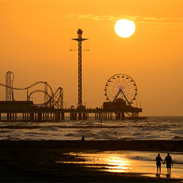 Sweets and Sandy Shores in Galveston, Texas